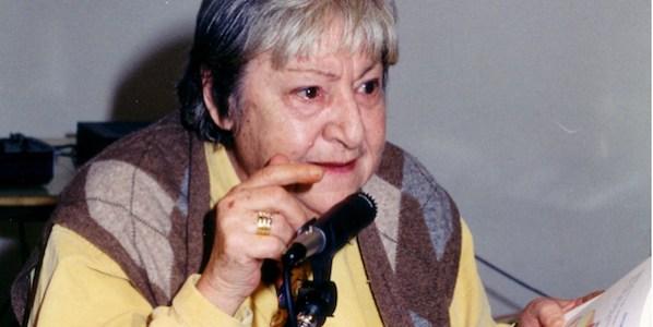 Gloria Fuertes en la Expo 92.
