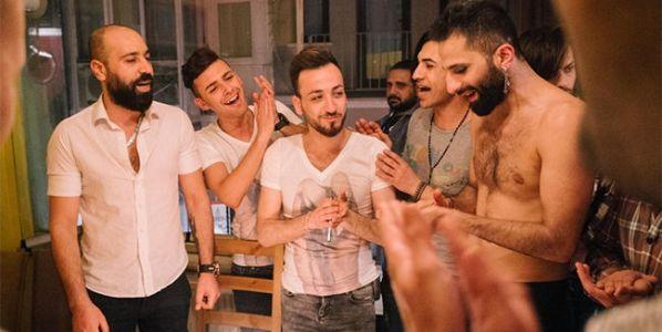 Un fotograma del documental Mr. Gay Siria que se proyecta en el Festival LesGaiCineMad