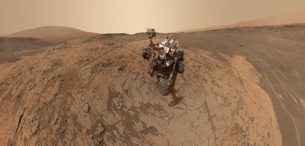 Curiosity Rover Portrait Mars Mojave Selfie MALHI. Foto: NASA.