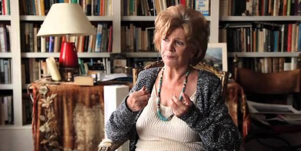 La escritora Edna O'brien.