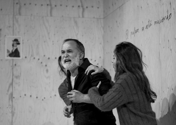 Luis Bermejo es Vania en el montaje de Àlex Rigola. Foto: Alba Pujol.