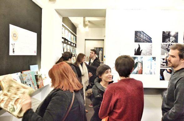 Exposición de los trabajos de los alumnos de Art4Kids en la galería Mad is Mad.