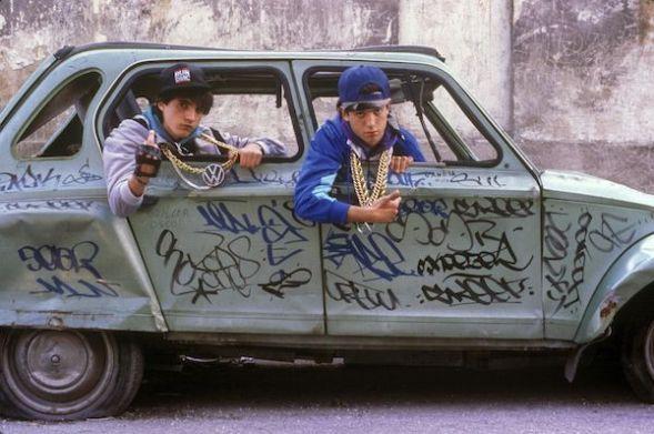 Madrid, 1989. Fotografía de Miguel Trillo.