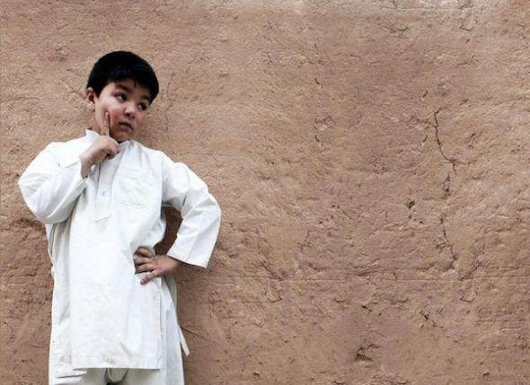 Una de las niñas clandestinas de Kabul. Foto: Capitán