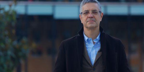 Javier García, editor de Volcano Libros. Foto: Ignacio Barandalla.