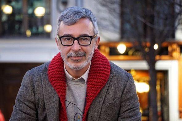 El periodista y escritor Paco Tomás. Foto: Manuel Cuéllar.