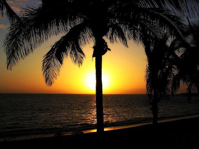 Atardecer en la isla de La Palma. Flickr Creative Commons.