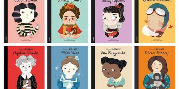 Algunas portadas de la colección Pequeña&Grande de la Editorial Alba.