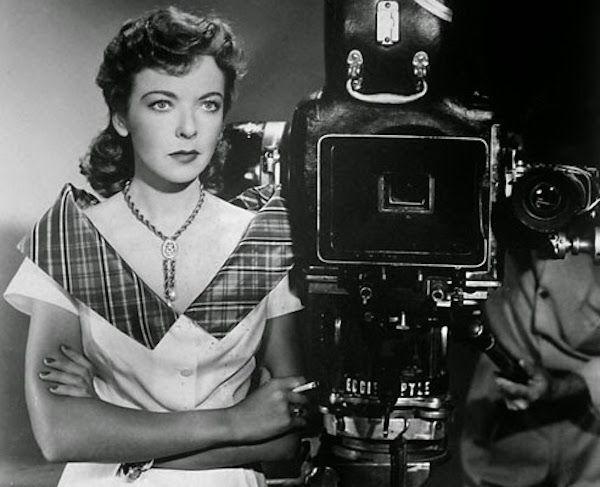 La cineasta Ida Lupino.