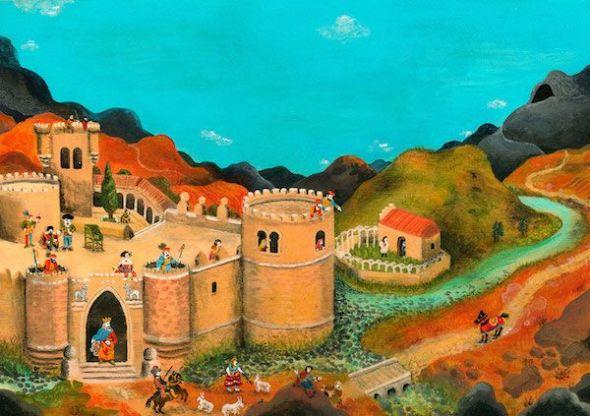 Ilustración para el libro Don Fermín de Manuel Marsol.