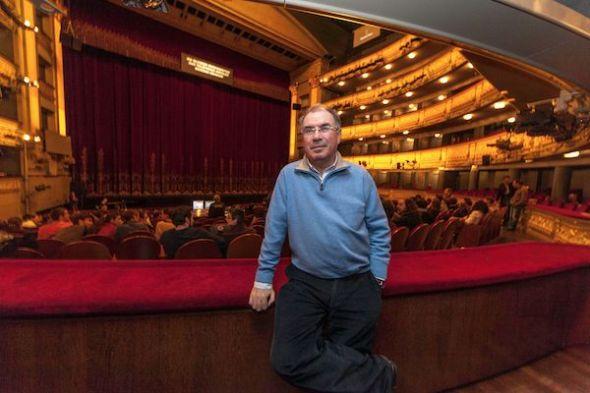 Andrés Peláez en el Teatro Real de Madrid. Foto: José Carlos Nievas.