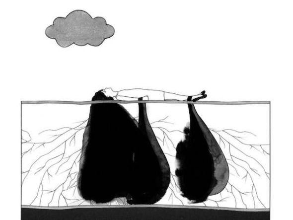 Una ilustración del libro 'Una entre muchas'.
