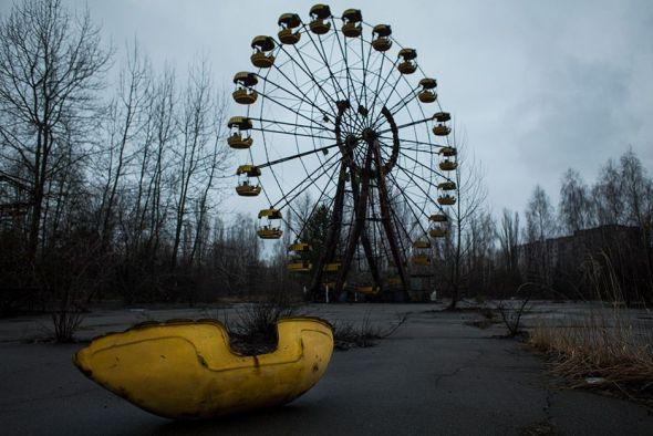 Una fotografía del trabajo Monólogo sobre Chernóbyl del fotógrafo Raúl Moreno.