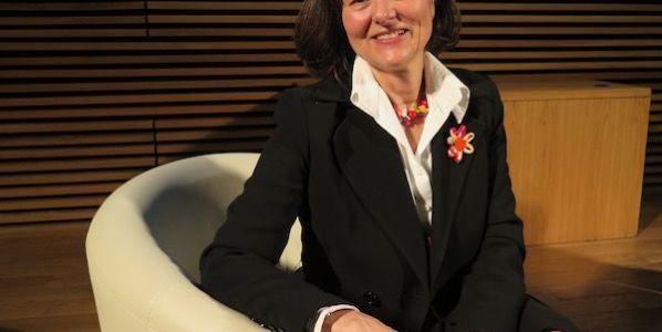 La chinóloga Taciana Fisac en Madrid.