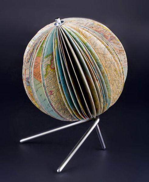 Atlas terráqueo. Colección de Fernando Vicente.