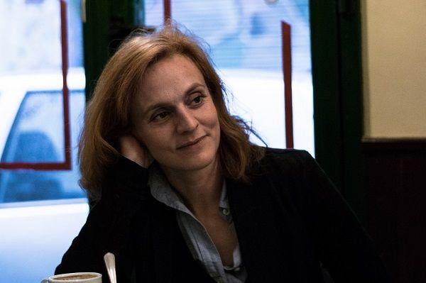 La escritora Beatriz Navas: Foto de Fernando Mateos.