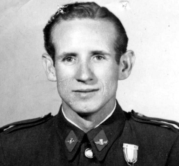 El espía español Joaquín Madolell. Foto del archivo del Ejército del Aire.