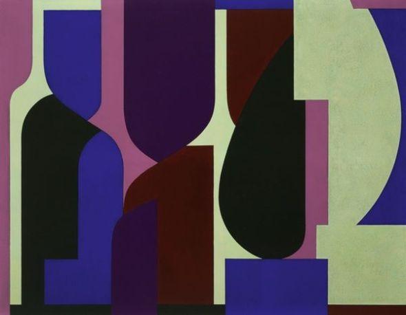 Victor Vasarely. 'Amir'. 1953. Vasarely Múzeum. Budapest. Victor Vasarely, VEGAP. Madrid, 2018.