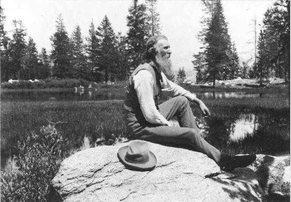 John Muir en una imagen del archivo del Servicio de Parques Nacionales de Estados Unidos.