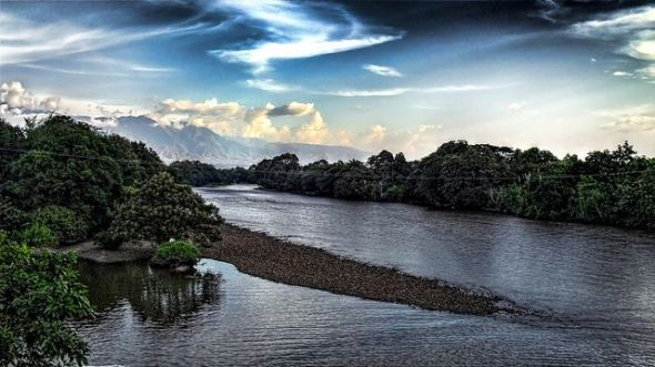 El río Magdalena en Colombia. Foto: Flickr Creative Commons / Joz3.69.