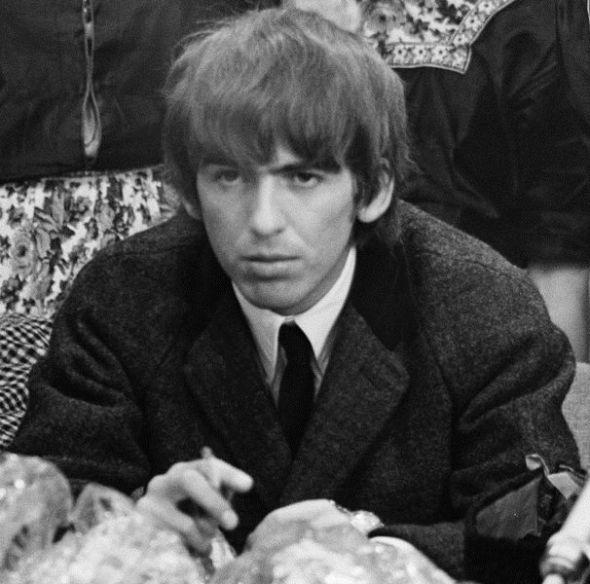 El beatle George Harrison en 1964.