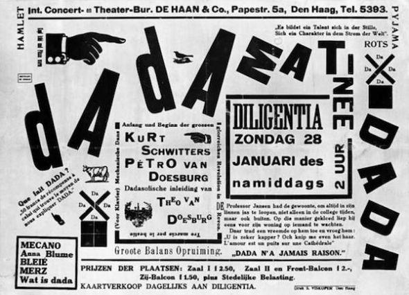 Póster de la Matinée dadaista.