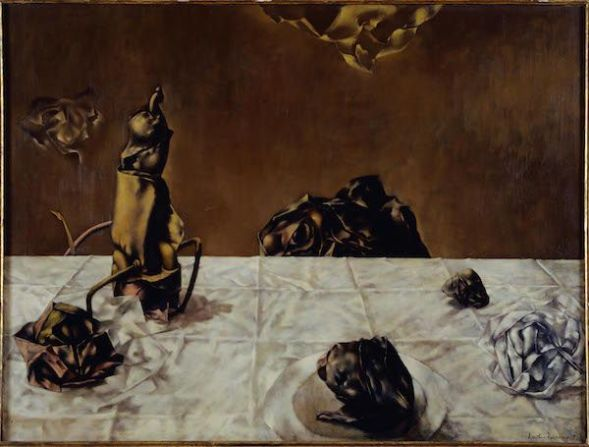 Dorothea Tanning. 'Some roses'.