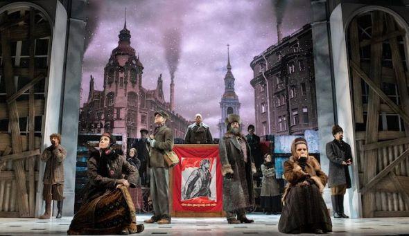 Una escena de 'Anastasia', el musical.