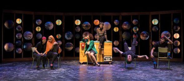Escena de la obra 'Fiesta, fiesta, fiesta'.