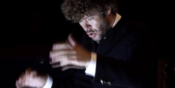 El director de orquesta Pablo Heras-Casado en el Teatro Real de Madrid. Foto: Javier del Real.