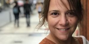 La escritora Aroa Moreno.