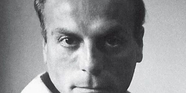 El poeta Gherasim Luca.