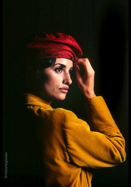 La actriz Penélope Cruz fotografiada por Victoria Iglesias.