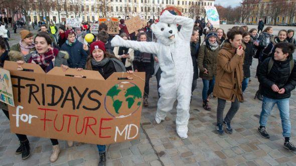 Friday For Future: 'Fridays For Future': Estudiantes Movilizados Contra El