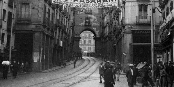 Imagen de Madrid en 1936.