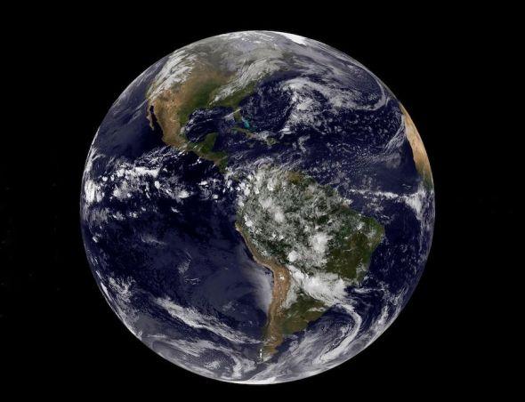 El planeta Tierra en una imagen de la NASA.