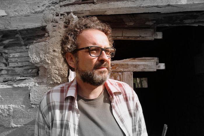 El escritor Andrés Ortiz Tafur.