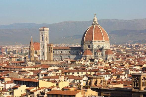 La ciuda de Florencia. Foto: Pixabay.