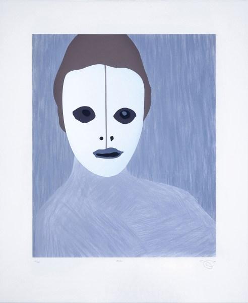 Gary Hume (Reino Unido, 1962). Gran, 2004. Invesart Gallery (Alicante).