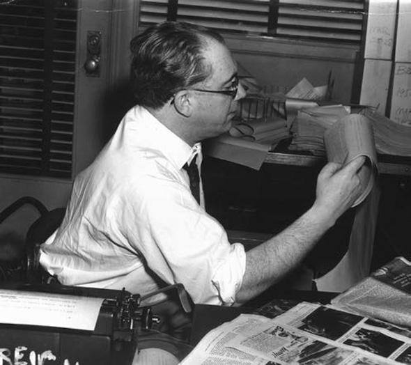 El periodista Augusto Assía.
