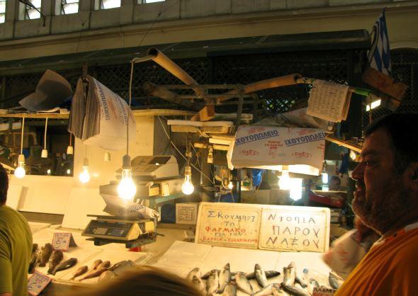 Mercado de Atenas. Foto: Ana Estéban.