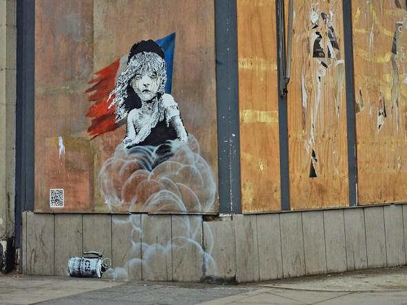 Último trabajo de Banksy.