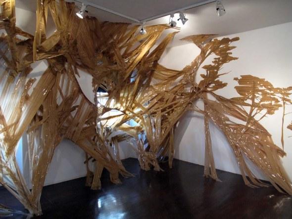 Noelia Villena. Instalacion. Galeria Artizar.