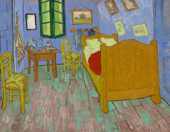 Cuadro original de Van Gogh, 'El Dormitorio'