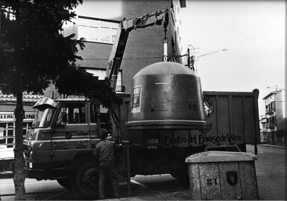 Centro del envase del vidrio, 1982.