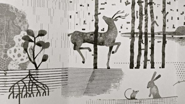 Ilustración del libro 'Un jardín'.