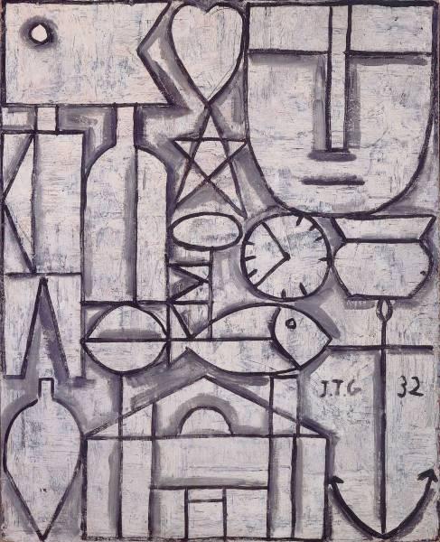 Joaquín Torres-García. Arte constructivo. 1932. Colecciónprivada, Suiza. © Sucesión Joaquín Torres-García, Montevideo 2016.