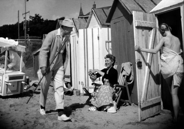 Un fotograma de la película 'Las vacaciones del Señor Hulot'.