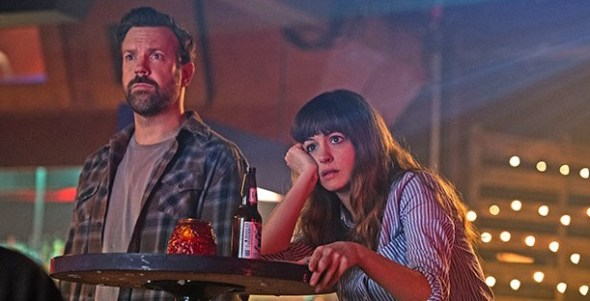 Anne Hathaway y Jason Sudeikis en Colossal.Foto: Voltage Pictures, Brightlight Pictures.