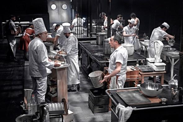 Una escena de 'La Cocina'. Foto: Marcos G. Punto.